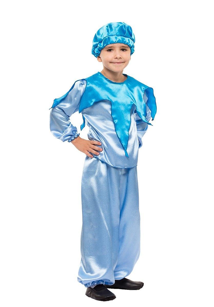 """Детский карнавальный костюм """"Ручеёк-Капелька"""" для мальчика"""