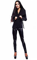 (M / 44-46) Жіноче кашемірове чорне пальто Parker