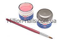 Гель для наращивания ногтей, IBD натурально розовый камуфляж, фото 1