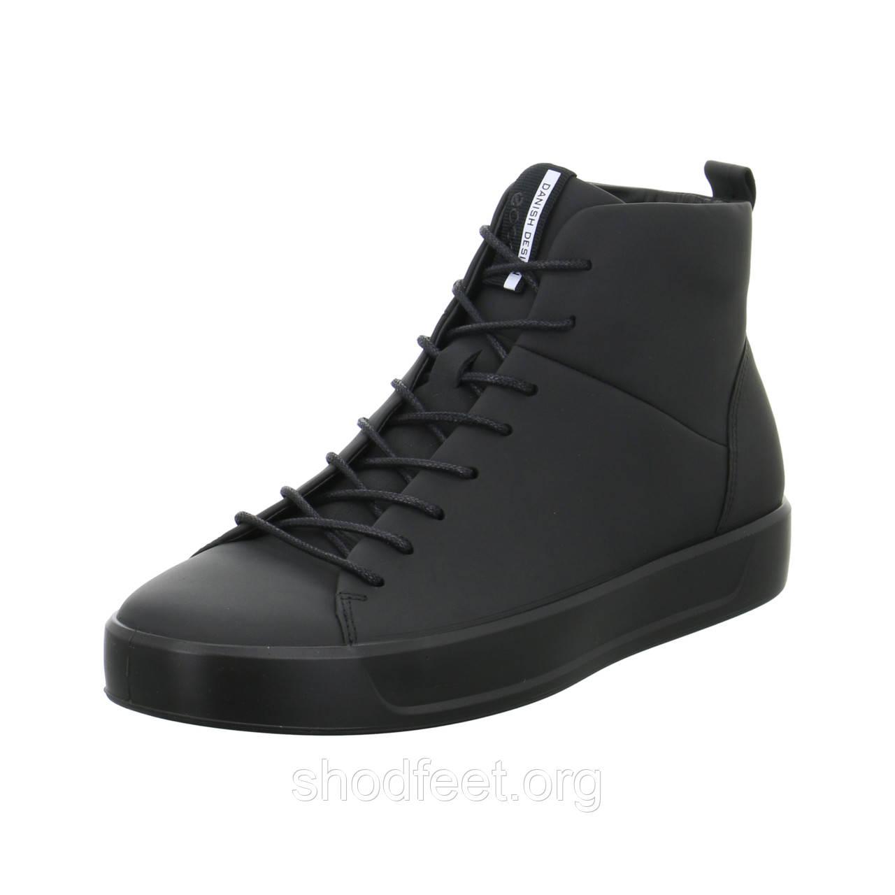 Мужские ботинки Ecco Soft 8 Mens 440554-1001