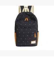 Школьный рюкзак черного цвета 1010, фото 1