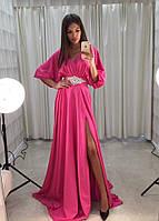 Платье с юбкой полусолнце летучая мышь, фото 1