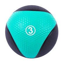 Медбол для тренувань IronMaster 3 kg медичний м'яч 22 см