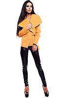Жіноче кашемірове гірчичне пальто Parker (S, M)