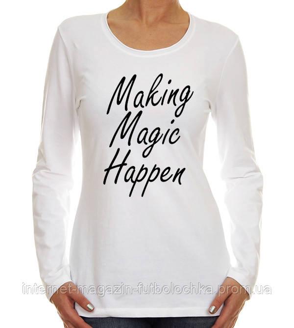 """Футболка """"Making magic"""""""