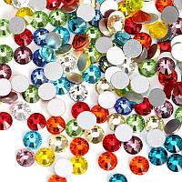 Стразы для ногтей, Color mix SS5, микс цветов , 100шт