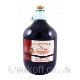 Вино красное Le Rovole Sangiovese Rubicone IGT 5 л (Италия)
