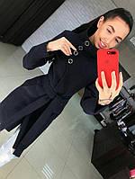 """Женское кашемировое пальто """"Паула"""" с поясом. Ткань: кашемир. Размер: 42,44,46,48. Цвета в ассортименте."""