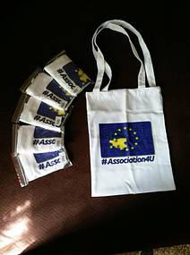 Сумки для покупок с флагов Евросоюза