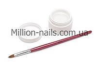 УФ гель для наращивания ногтей CCN прозрачный (transparent) 15 ml(0.5 oz)
