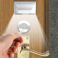 Подсветка дверного замка с датчиком движения LED