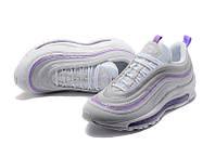 Женские кроссовки Nike Air Max 97 white-violet