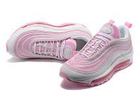 Женские кроссовки Nike Air Max 97 white-pink