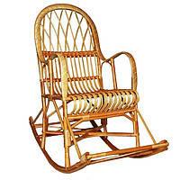 Кресло-качалка из лозы Комфорт