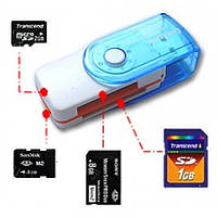Кардридер CARD READER 4IN1