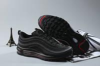 Женские кроссовки Nike Air Max 97 black-red, фото 1