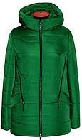 Короткий пуховик б/о 10-41 - зеленый: 42,44,46,48,50,52,54,56