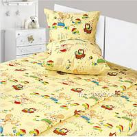 Детский комплект постельного белья Фланель 215x145