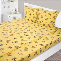 Комплект постельного белья детский Фланель 147х112
