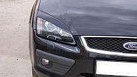 Реснички на фары Форд Фокус (Ford Focus) 2 дорестайлинг /комплект