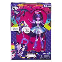 My Little Pony Equestria Girls Singing Twilight Sparkle Искорка Рок-Звезда