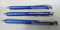 Металлические ручки с гравировкой логотипа в Киеве