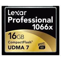 Карта памяти Lexar 16Gb Compact Flash 1066x Professional (LCF16GCRBEU1066)