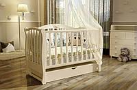 Детская кроватка Magic Dream с пеленальным комодом Vip