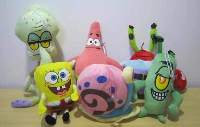 Мягкие игрушки Губка Боб Квадратные Штаны