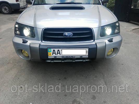 "Установка 3"" дюймовых линз субару форестер Subaru Forester"