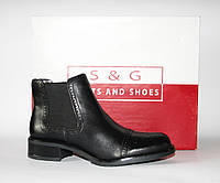 Женские ботинки челси S&G boots and shoes оригинал натуральная кожа 39