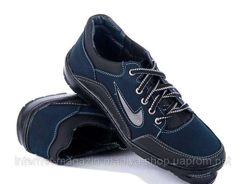 Туфли PAO K-32-1 синий