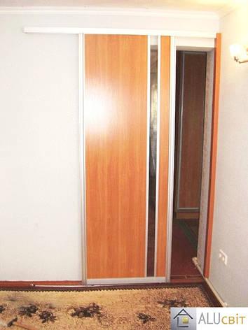 Межкомнатные раздвижные  двери купе на монорельсе, фото 2
