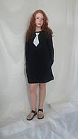 Сукня жіноча міні краватка в 12-ти кольорах Платье женское однотонное