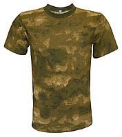 Камуфлированные футболки A-TACS темный