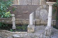 Архитектурная композиция и камень
