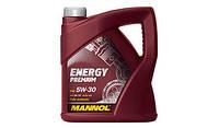 Моторное масло MANNOL Energy Premium 5W-30 API SN/CF 4л