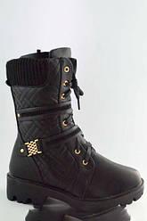 Ботинки KLF 6739-1Черный
