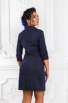 Д1280 Элегантное платье размеры 48-54, фото 3