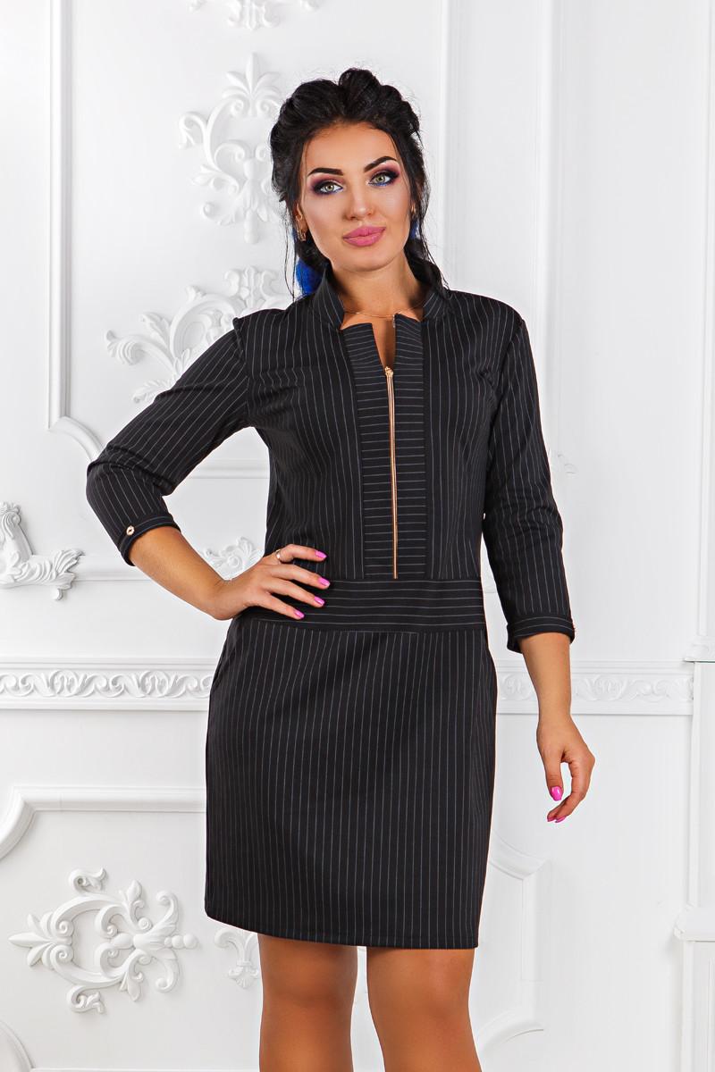Д1280 Элегантное платье размеры 48-54