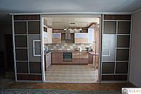 Межкомнатные (перегородки) раздвижные  двери купе