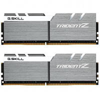 Модуль памяти для компьютера DDR4 16GB (2x8GB) 3200 MHz Trident Z Silver H/ White G.Skill (F4-3200C16D-16GTZSW)