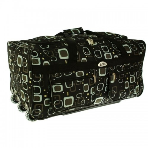 Большая дорожная сумка на колесах обьем 88 л matrix