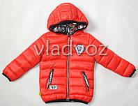 Детская двухсторонняя куртка ветровка на мальчика 4-5 лет