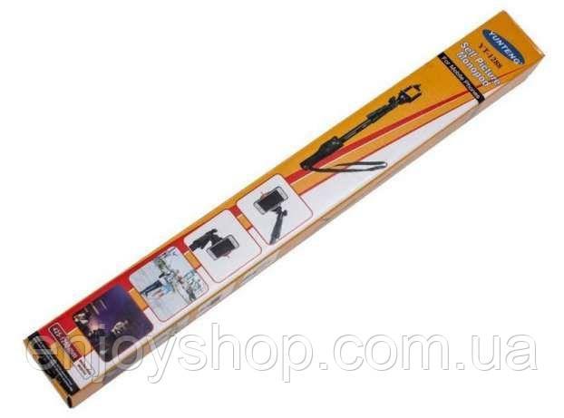 Универсальный Монопод (селфи палка) Yunteng YT1288 (пульт bluetooth )