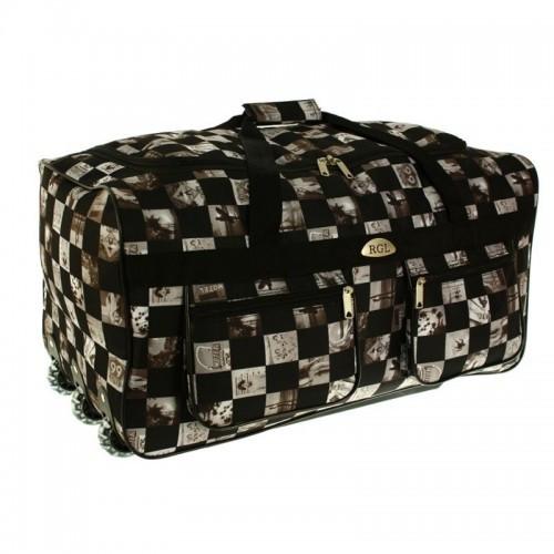 Большая дорожная сумка на колесах обьем 110 л kolor 14