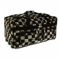 Большая дорожная сумка на колесах обьем 110 л kolor 14, фото 1