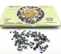 "Стразы ""Rinestone""термо № SS20(5мм) 1440шт в упаковке, цвет Crystal AB"