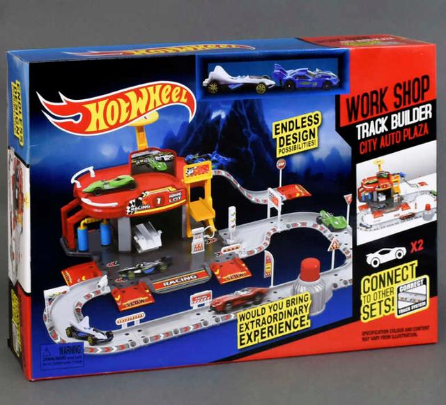 Игровой набор Хот Вилс с гаражом, станут отличным подарком для любого мальчика.