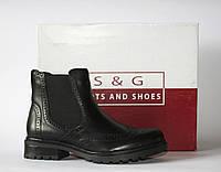 Женские ботинки челси S&G boots and shoes оригинал натуральная кожа 40